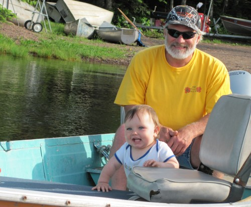 Grandpa Takes Anthony of a Boat Ride